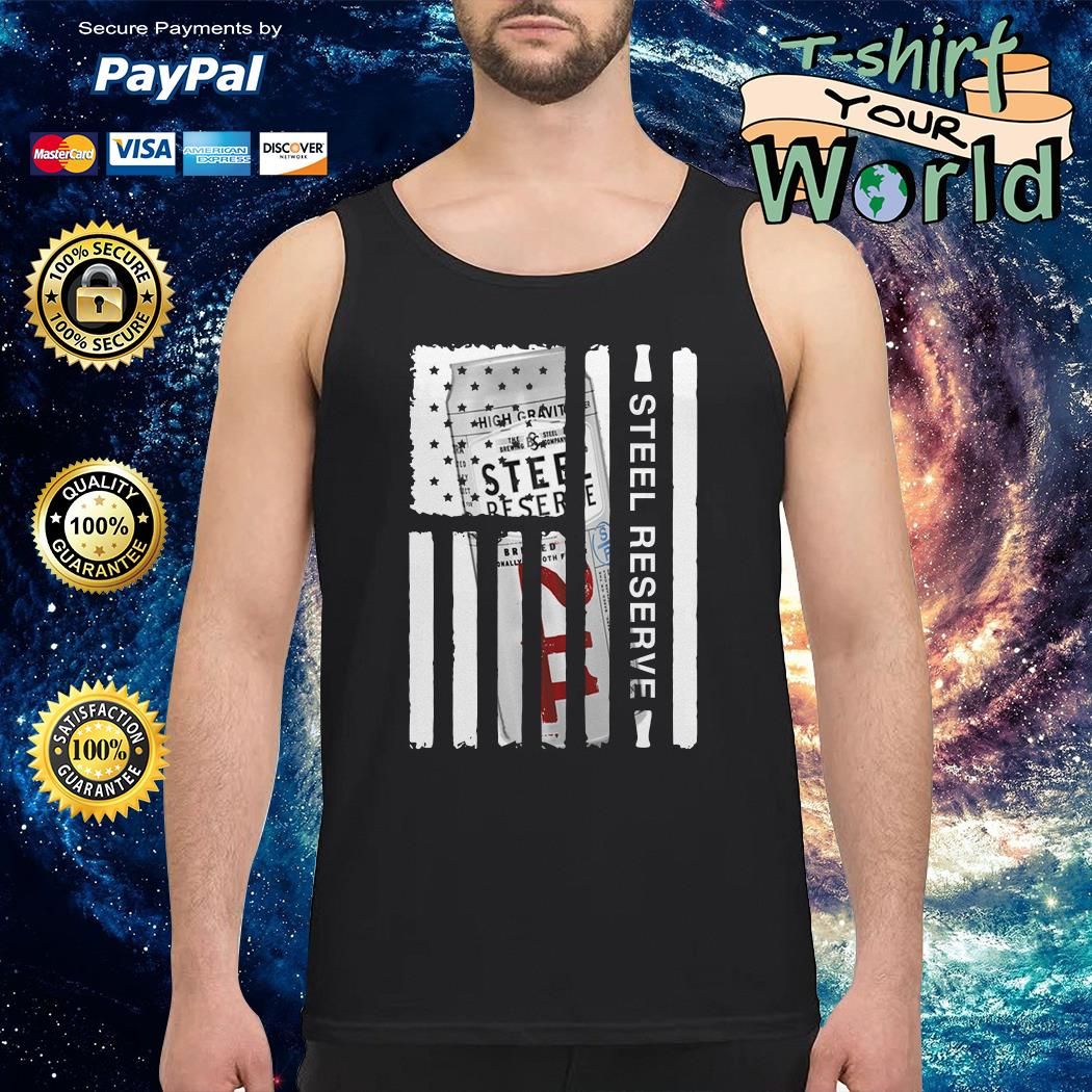 Steel Reserve independence day american flag Tank top