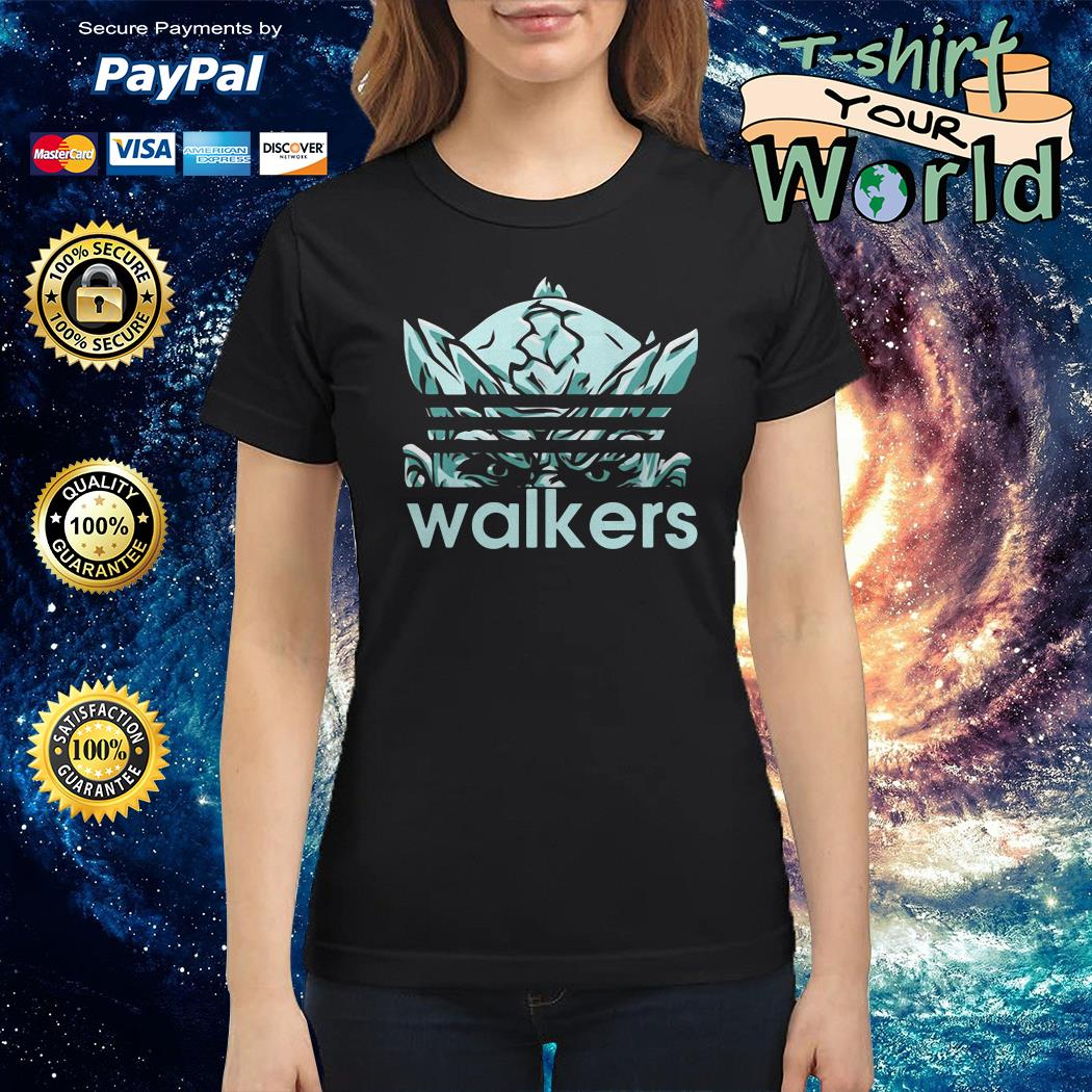 The night king adidas white walker game of thrones Ladies tee