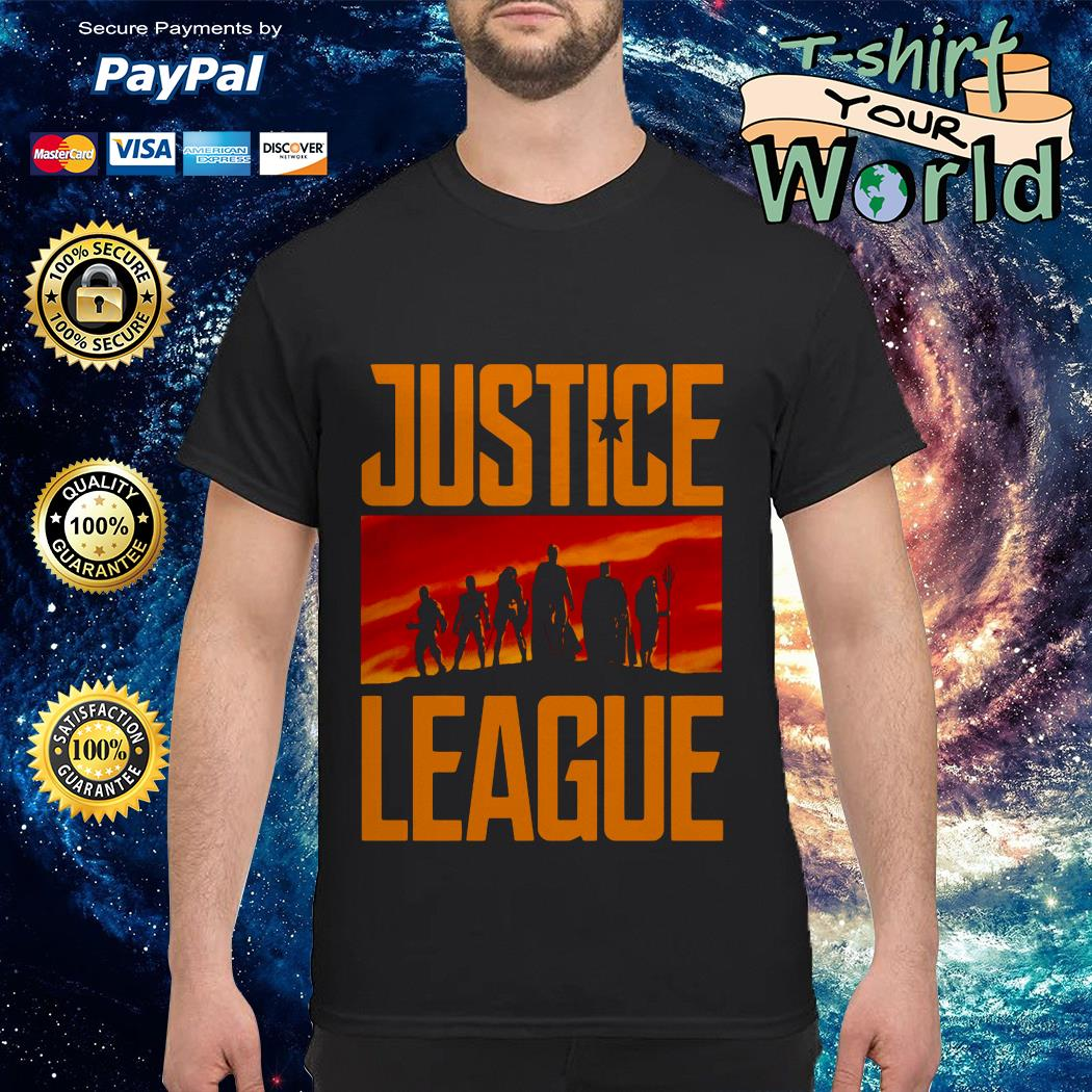 They've never faced us before. not us united Justice League shirt