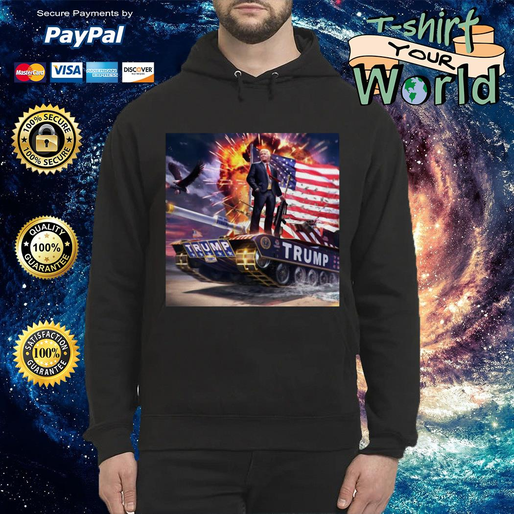 Trump gold plated is the 4th of july Hoodie