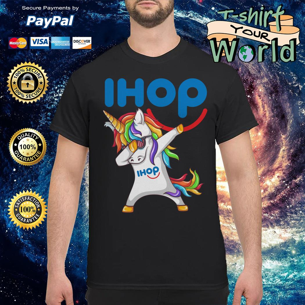 Unicorn dabbing ihop shirt