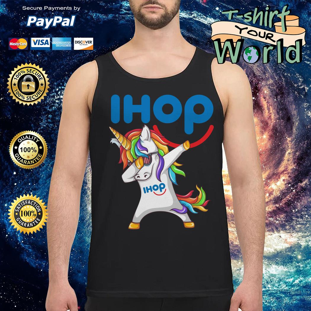 Unicorn dabbing ihop Tank top