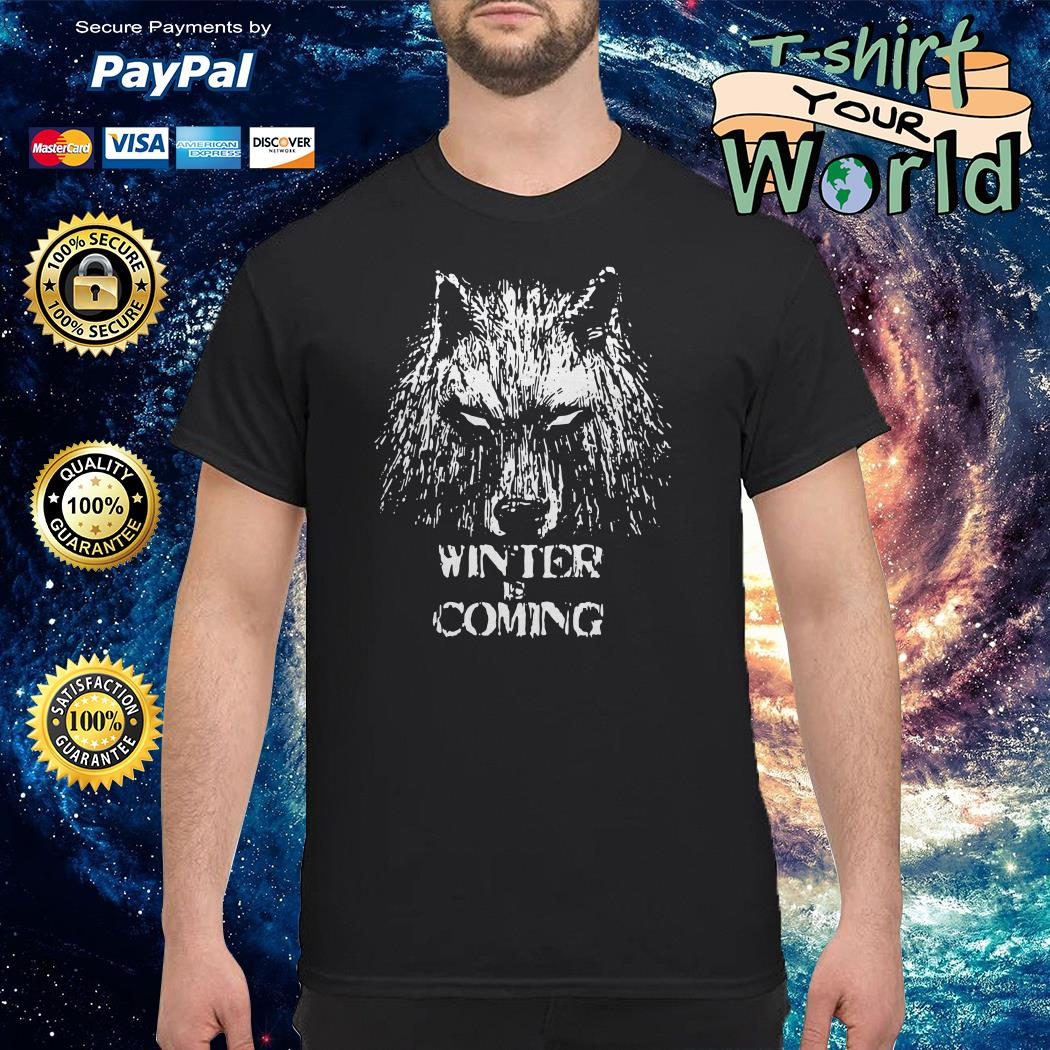Winter is coming game of thrones shirt