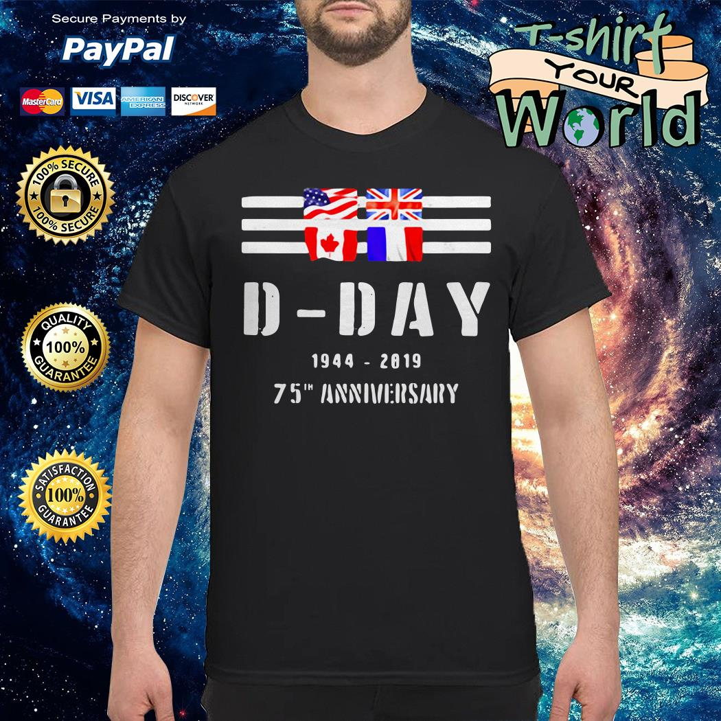 Wwii d-day 75th anniversary shirt