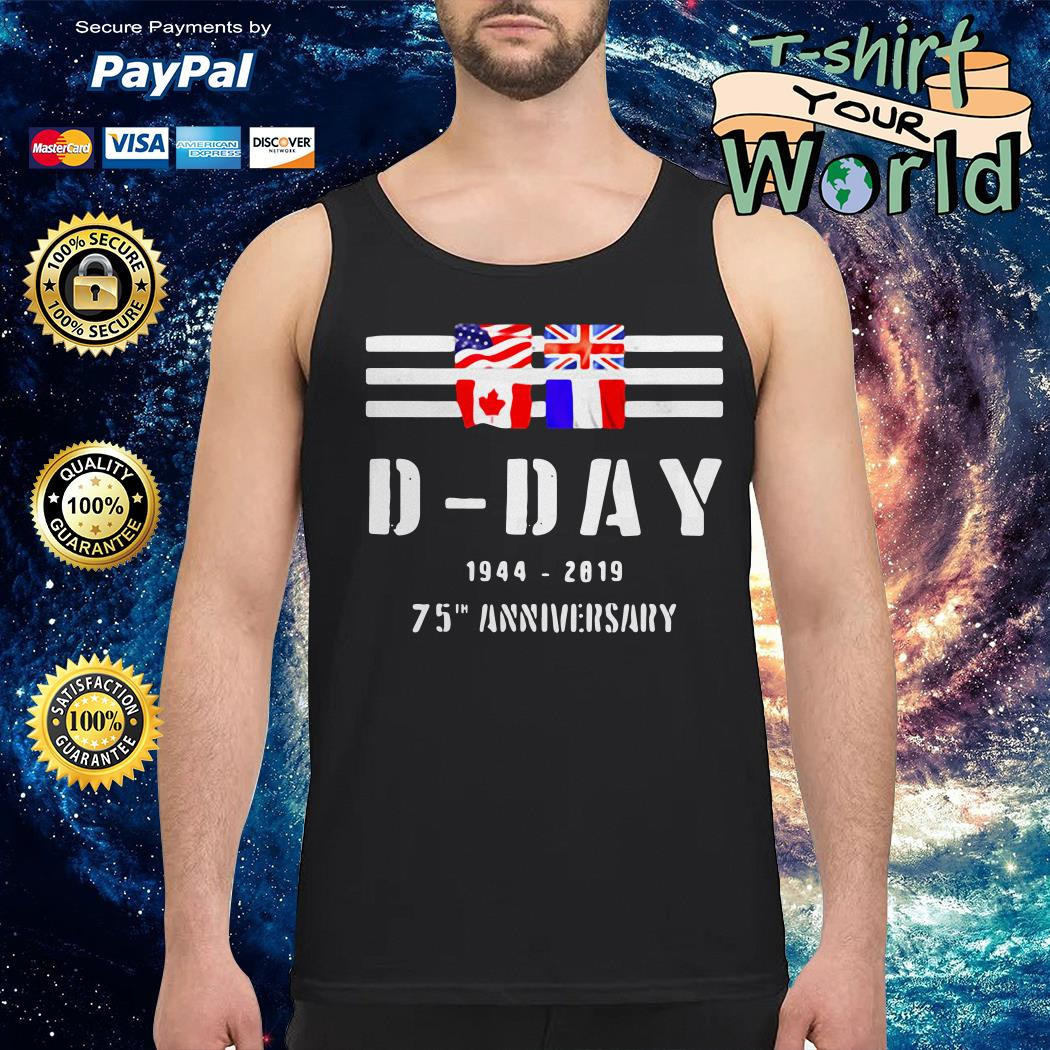 Wwii d-day 75th anniversary Tank top