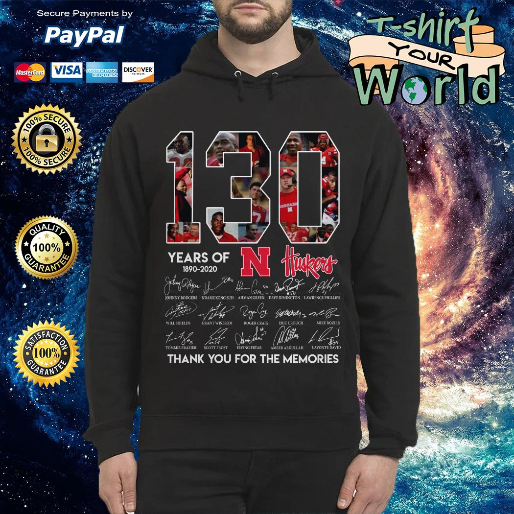 130 Years 1890- 2020 Thank You For The Memories Hoodie