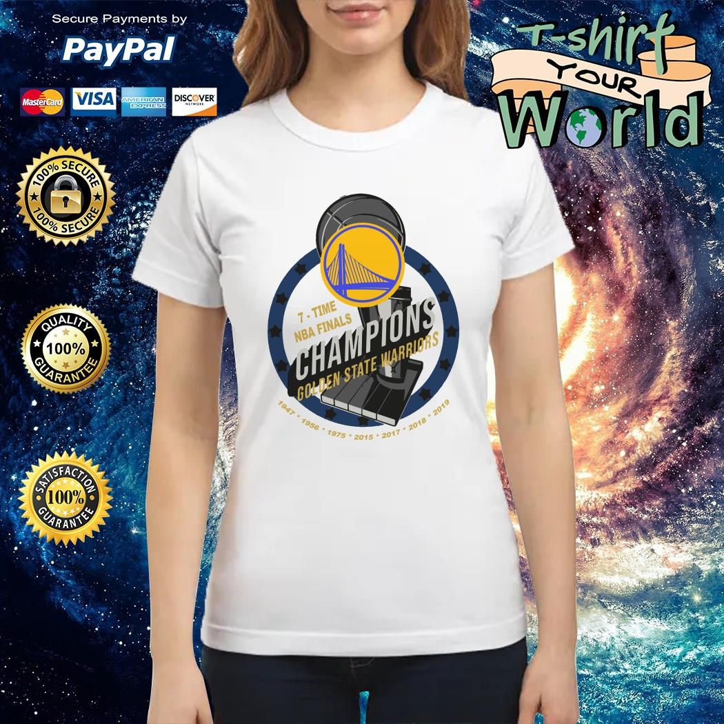 Golden state warriors 7 times NBA finals Champions NAB 2019 Tank top