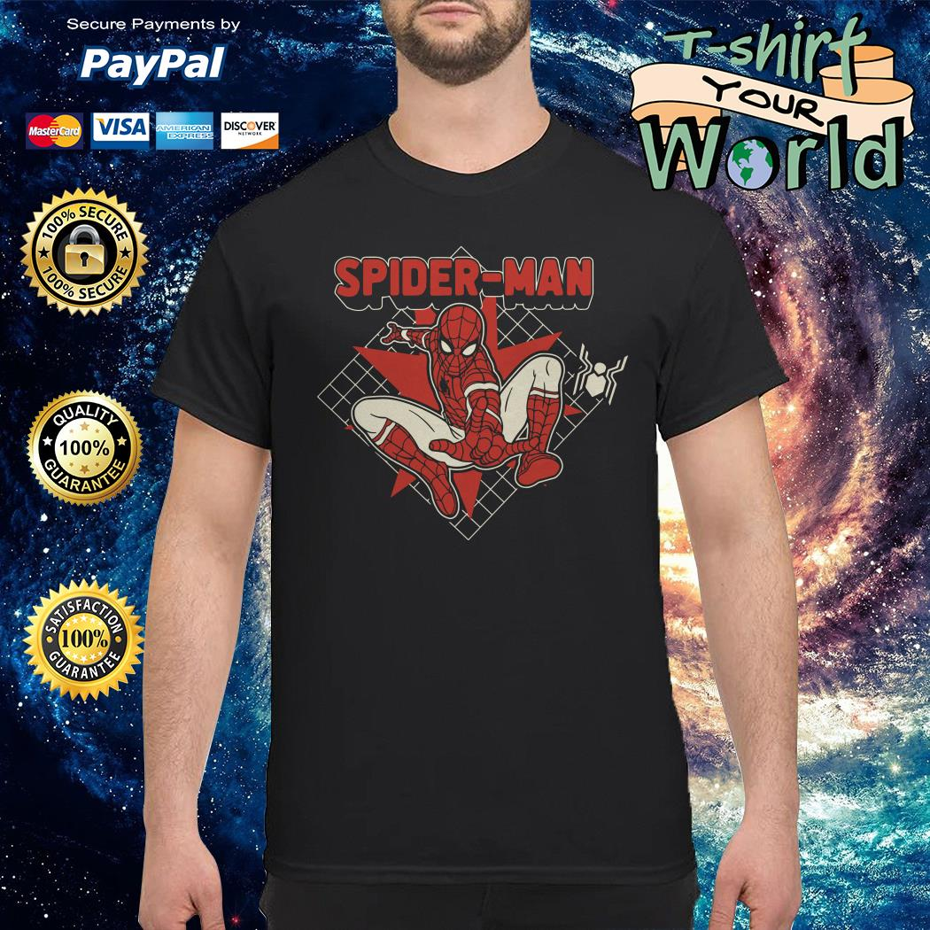 Marvel Spider-man Far From Home Retro shirt