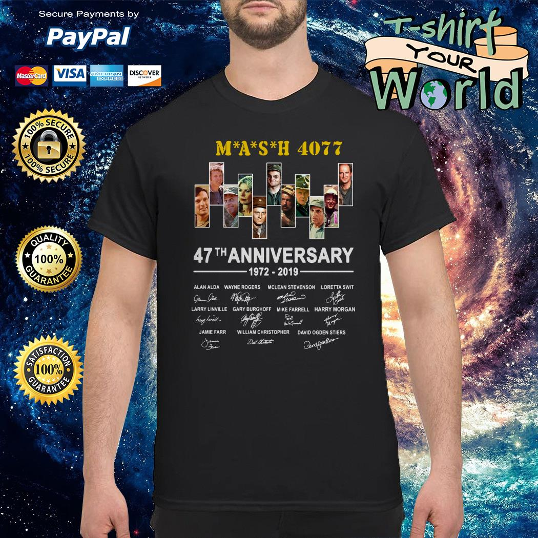 Mash 4077 47th anniversary shirt
