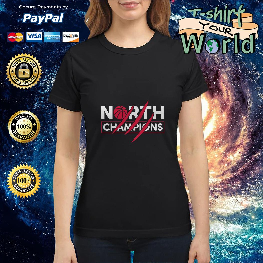 North Champions Toronto Basketball Claws Scratches Ladies tee