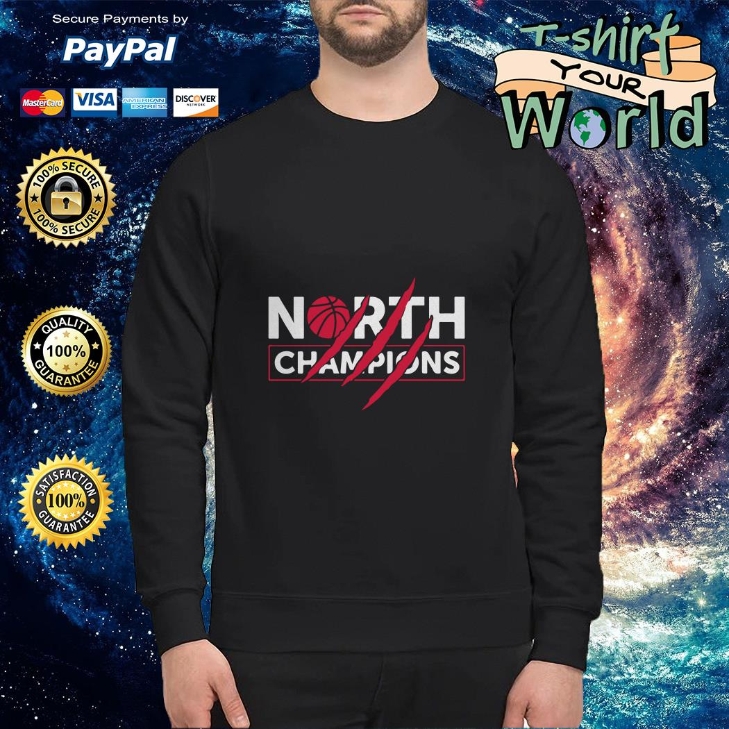 North Champions Toronto Basketball Claws Scratches Sweater