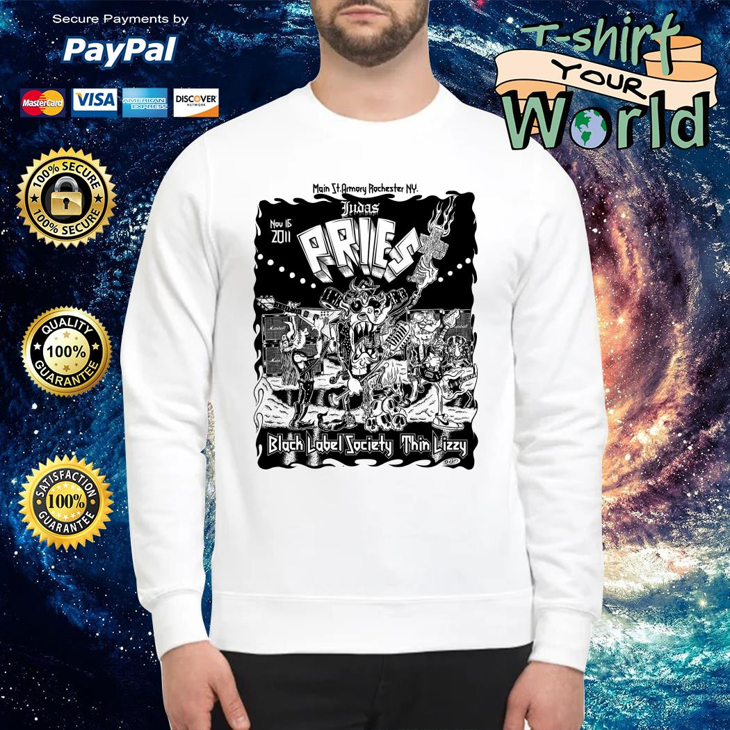 Pries Black Label Society thin lizzy Sweater