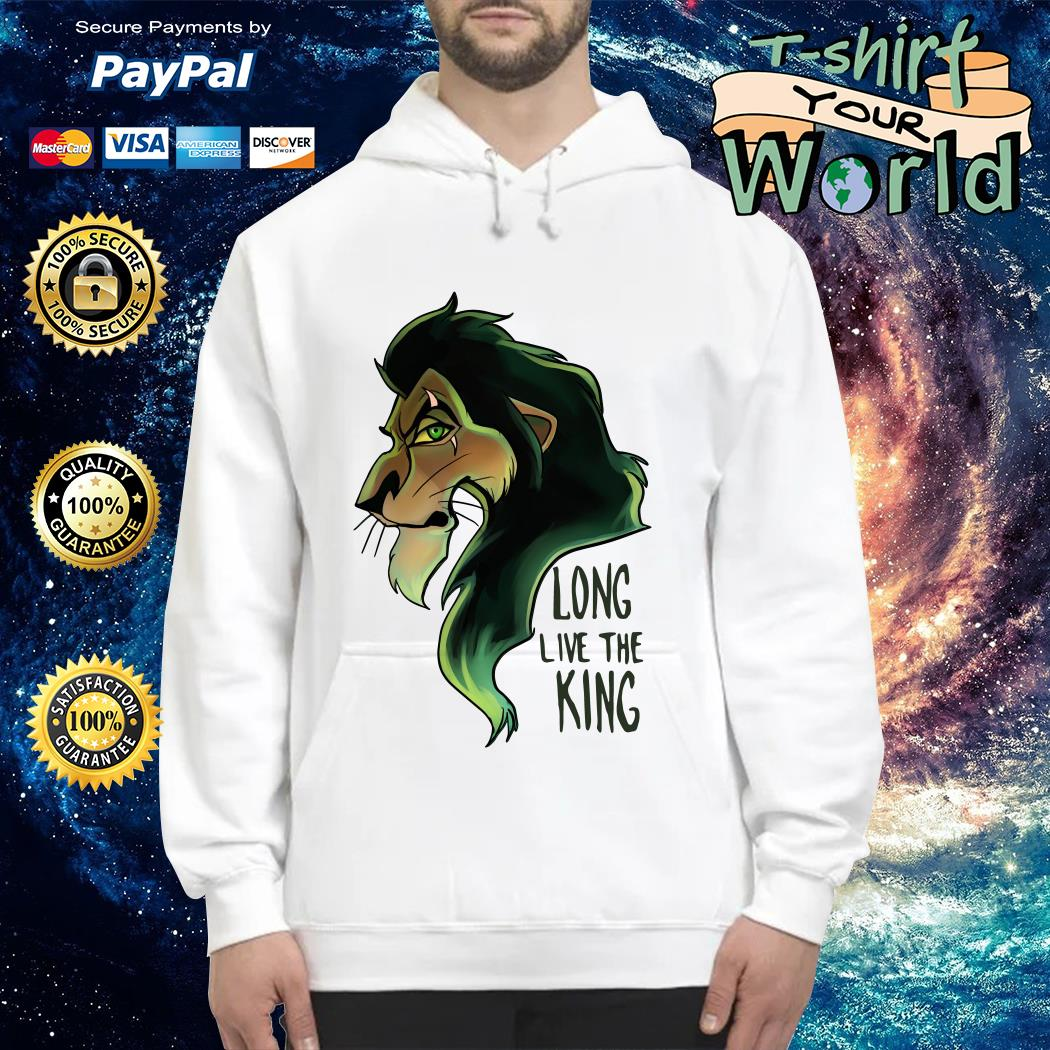 Scar The Lion King Long Live the King Hoodie