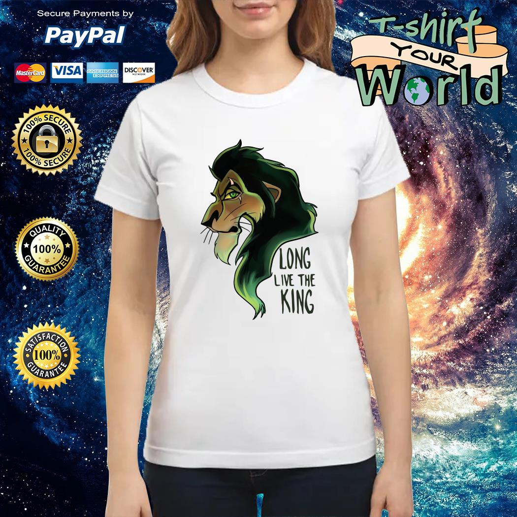 Scar The Lion King Long Live the King Ladies tee