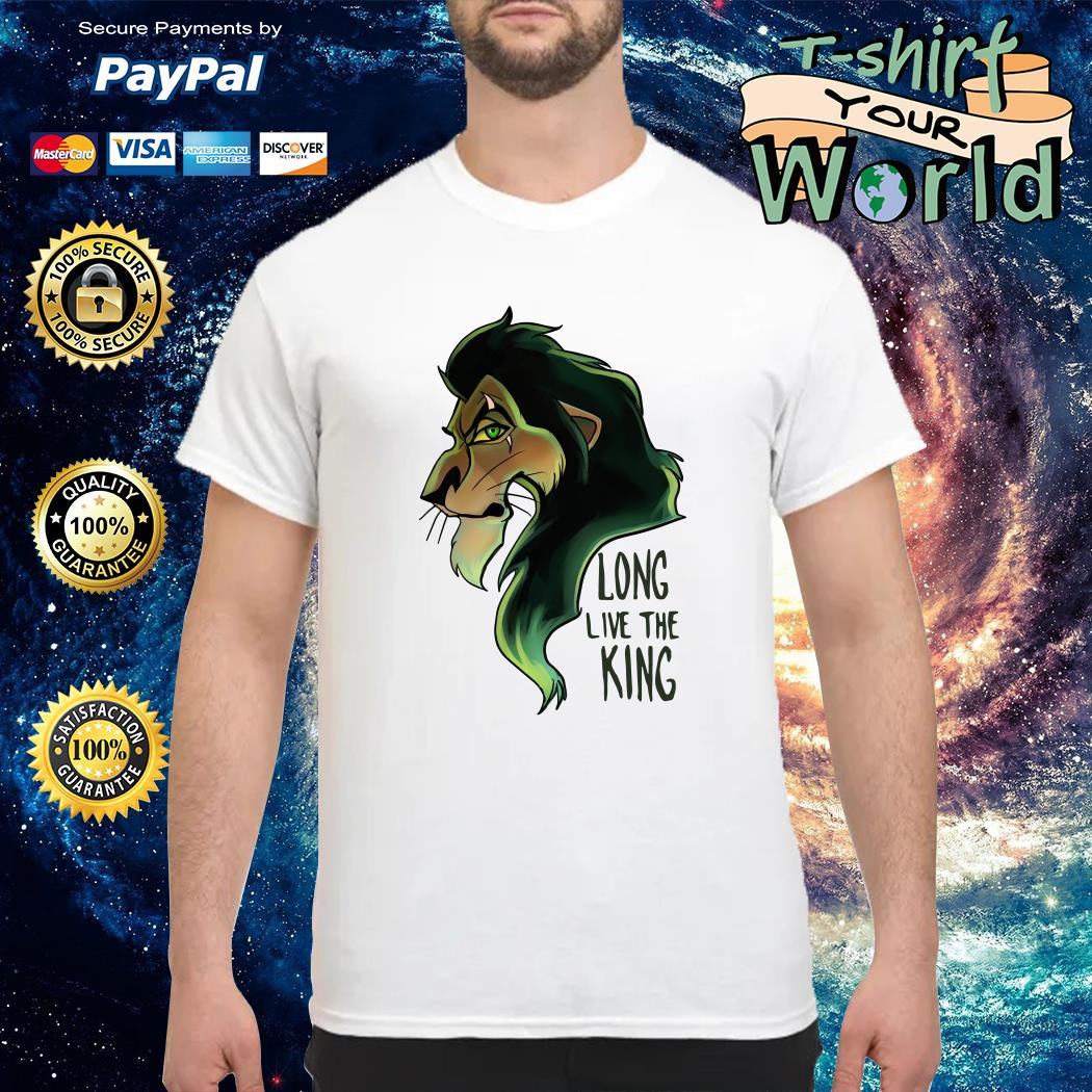 Scar The Lion King Long Live the King shirt
