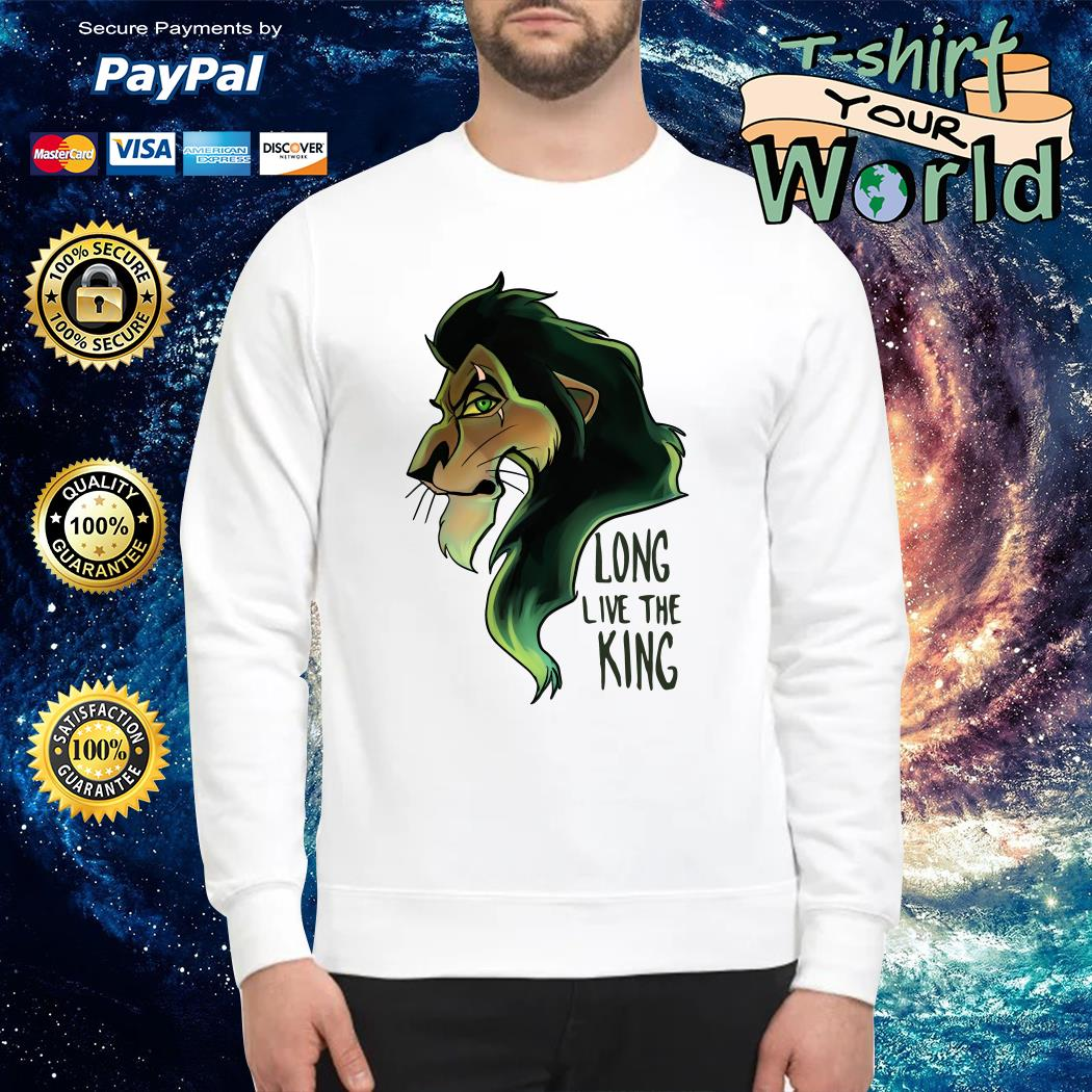 Scar The Lion King Long Live the King Sweater