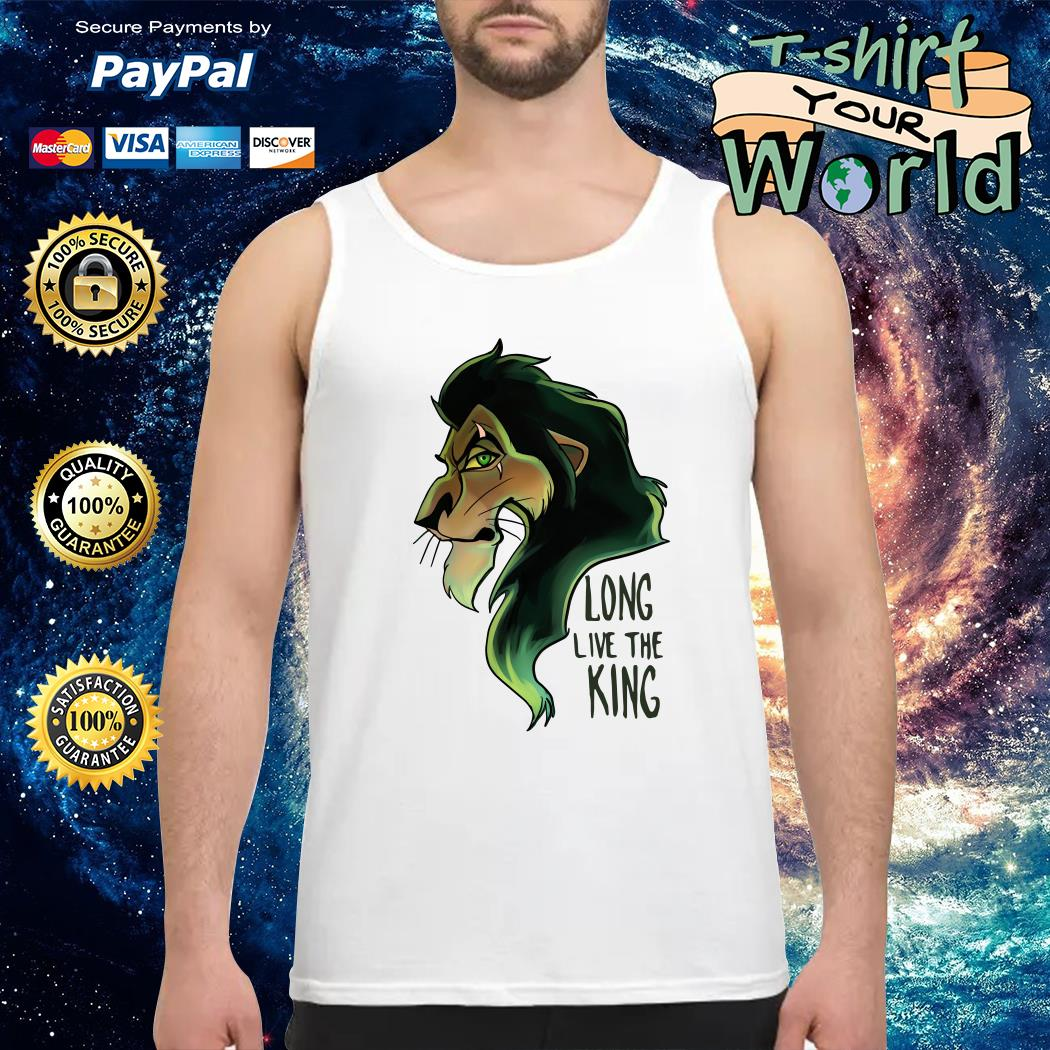 Scar The Lion King Long Live the King Tank top