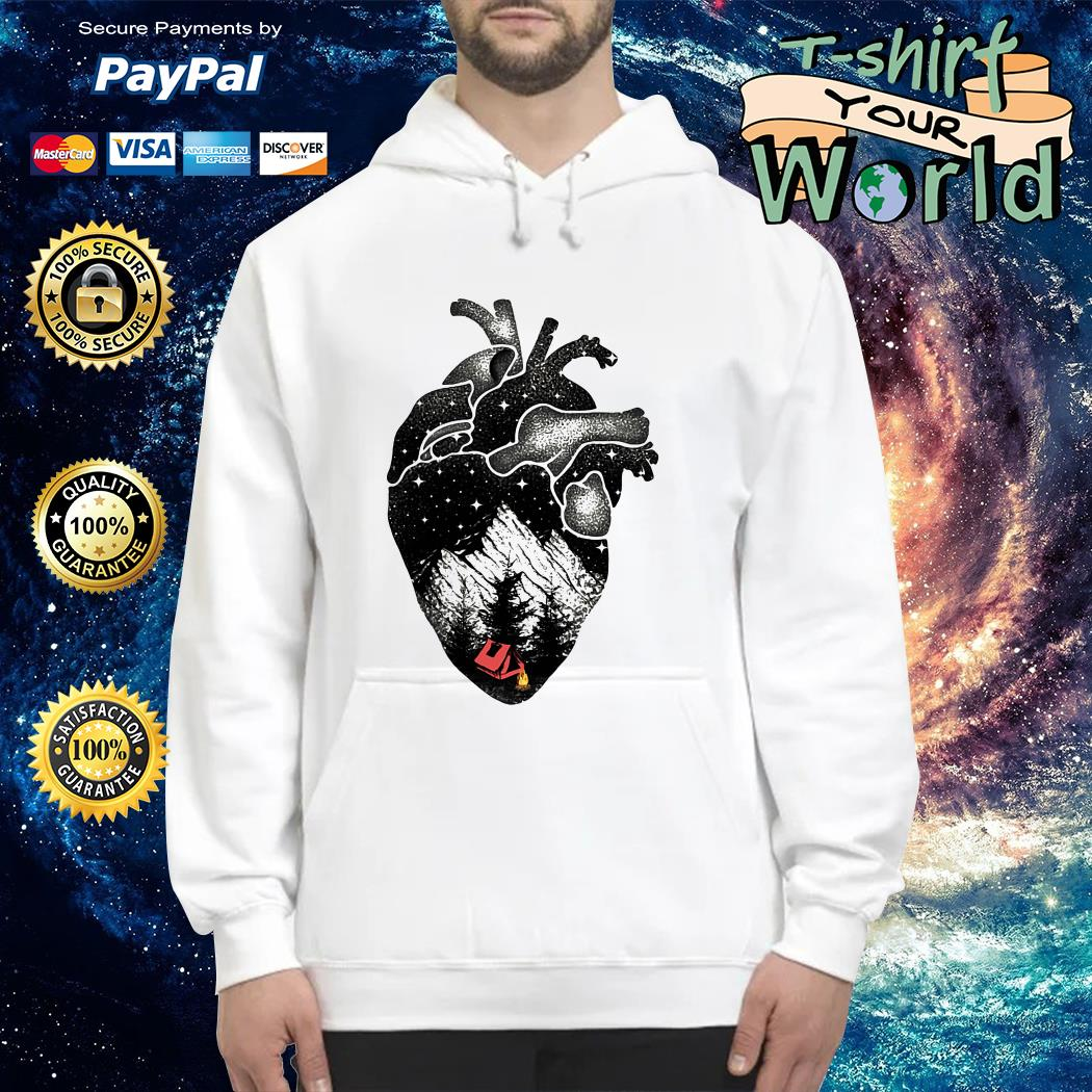 The landscape's inside the heart Hoodie