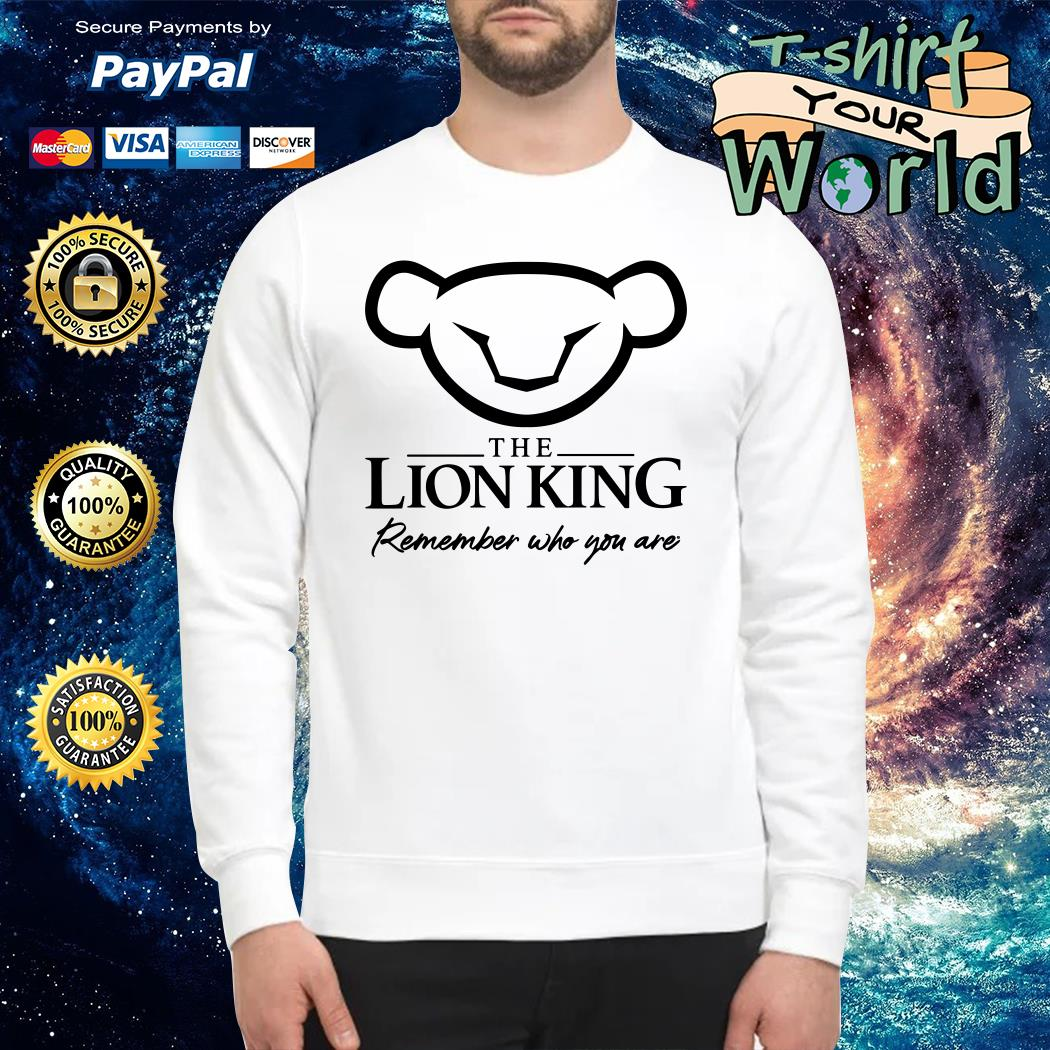 The Lion King 2019 Simba Remember who you are Sweater