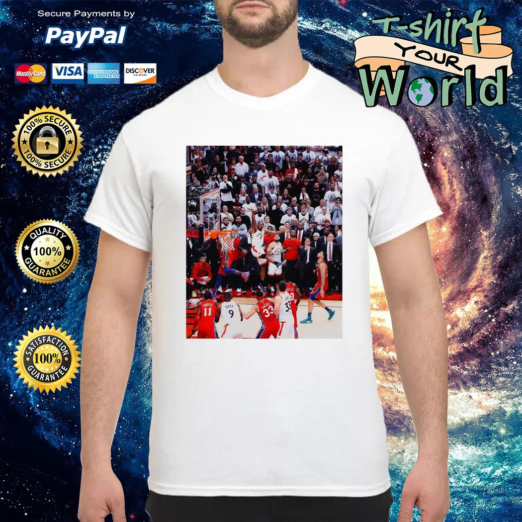 Toronto Raptors Kawhi Leonard game winner shirt