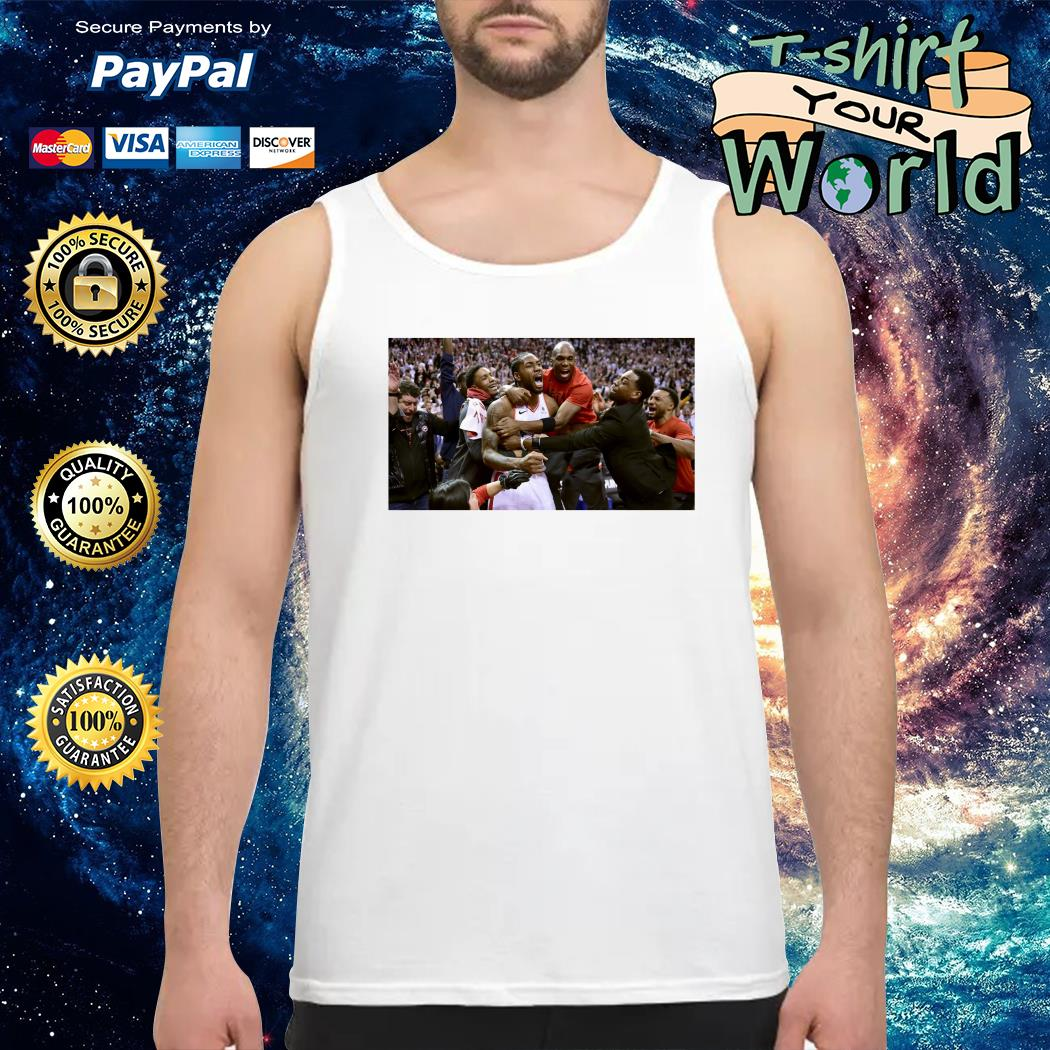 Toronto Raptors Kawhi Leonard game winner Tank top
