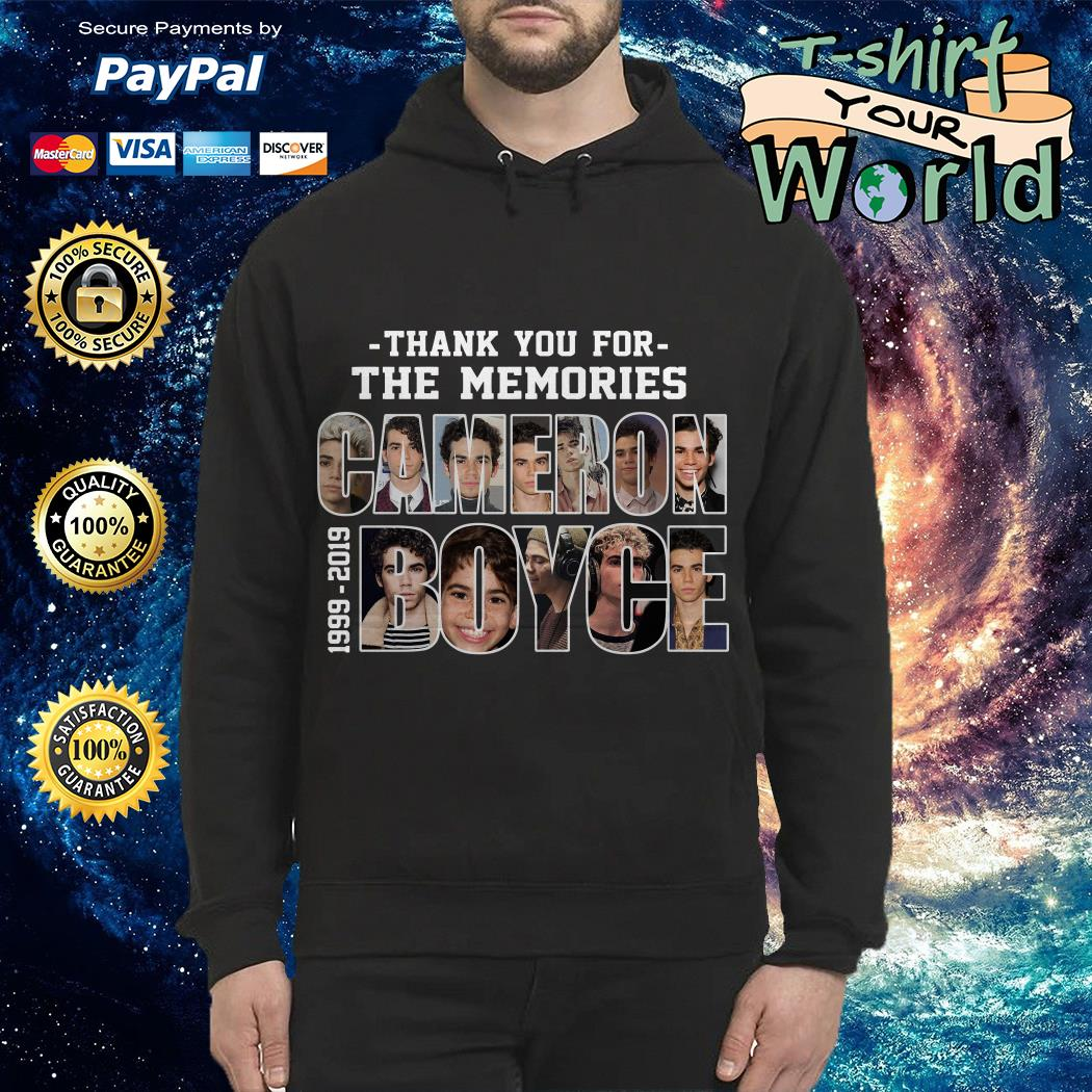 Cameron Boyce 1999-2019 thank you for the memories Hoodie