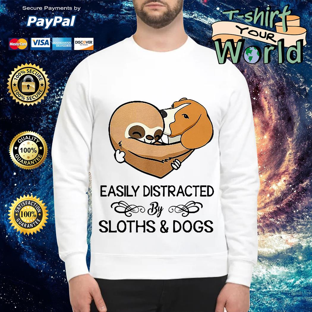 Easily Distracted by Clothes Dogs Sweater