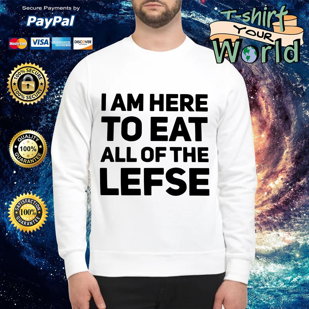 I am here to eat all of the Lefse Sweater