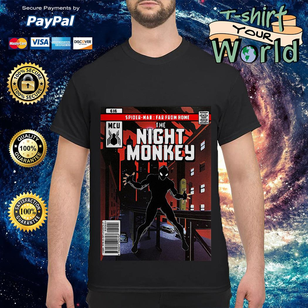 MCU Spider man Far from home the Night Monkey shirt