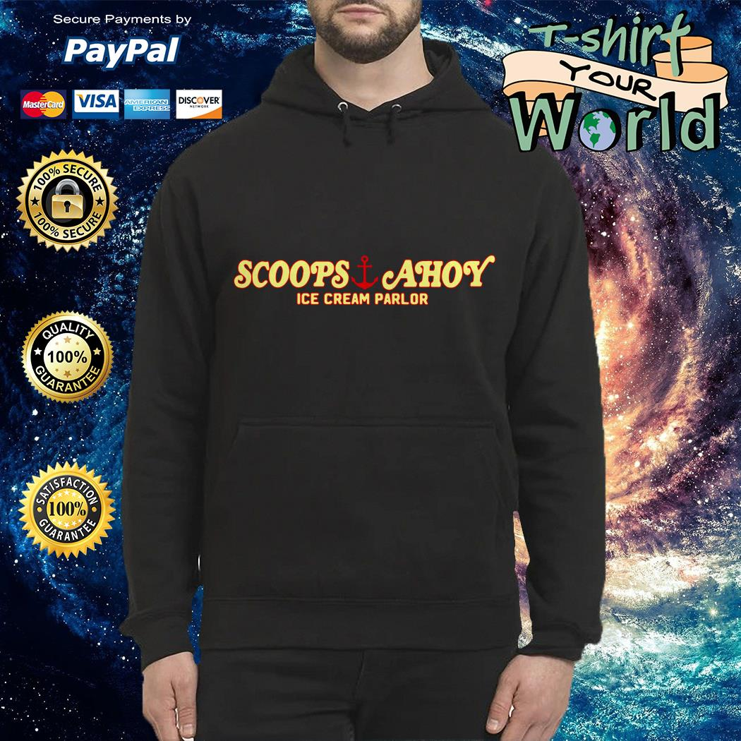 Scoops and Ahoy ice cream parlor Hoodie