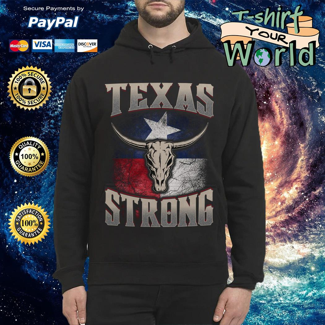 Texas cattle skull strong shirt
