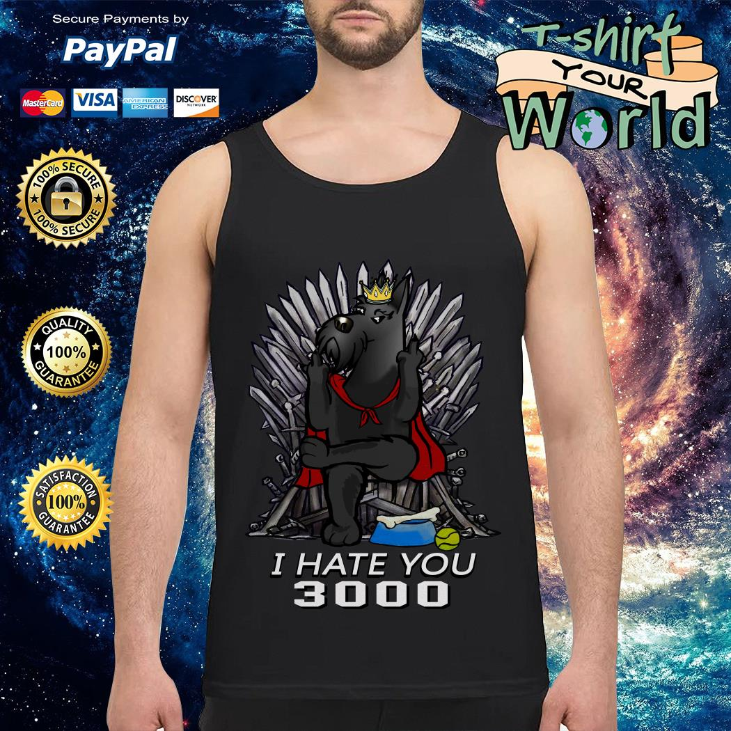 Game Of Thrones Scotland King I hate you 3000 Tank top