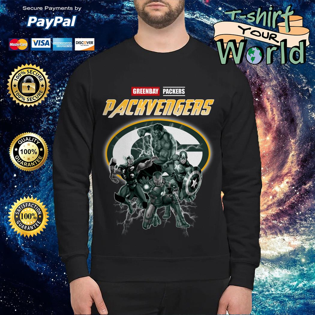 Greenbay Packers Packvengers Avengers Sweater