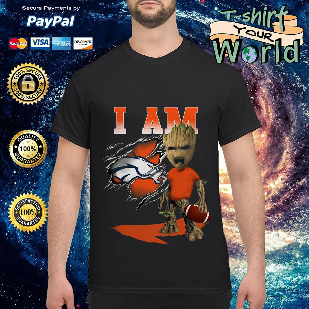Groot and Denver Broncos Rugby shirt