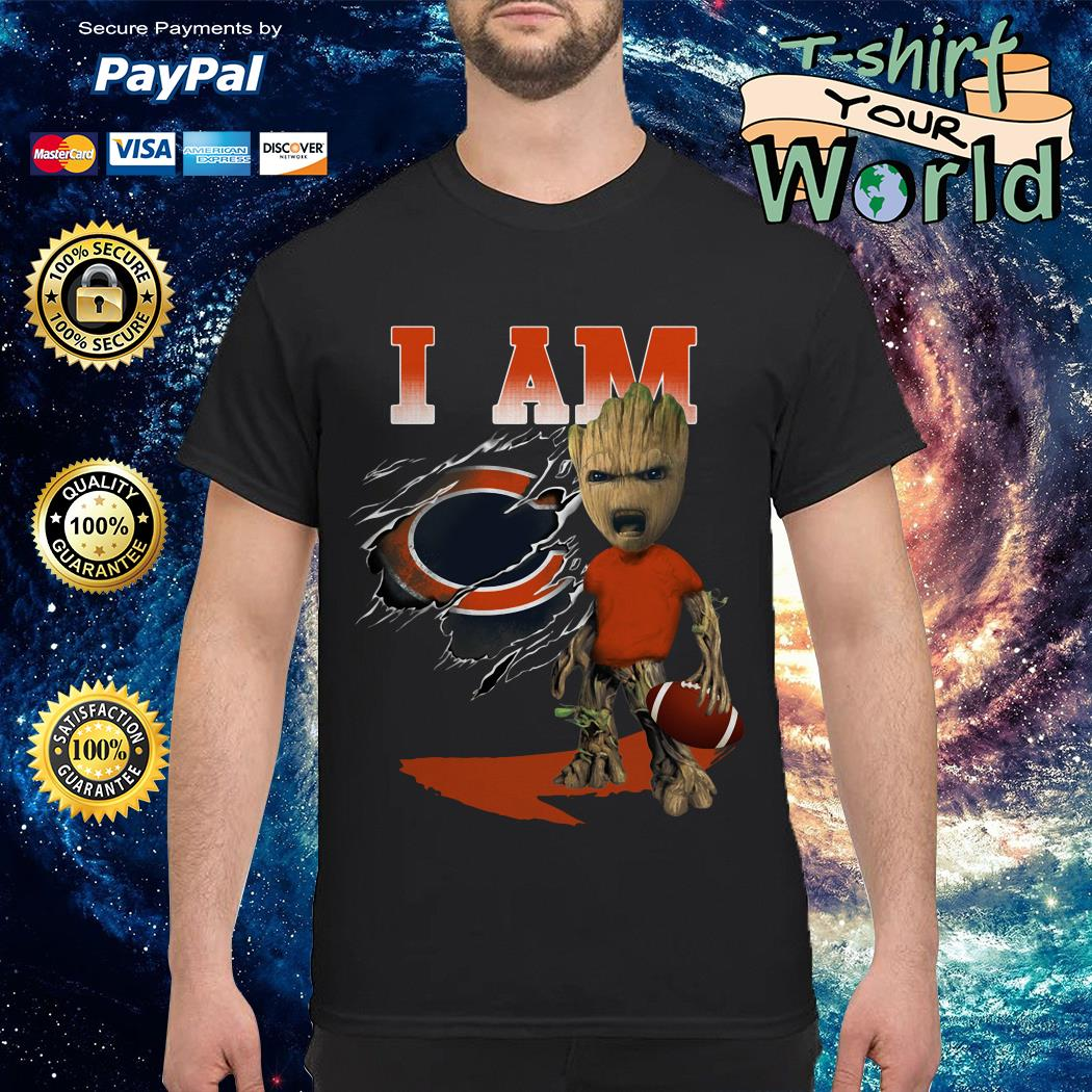Groot I Am Chicago Bears shirt