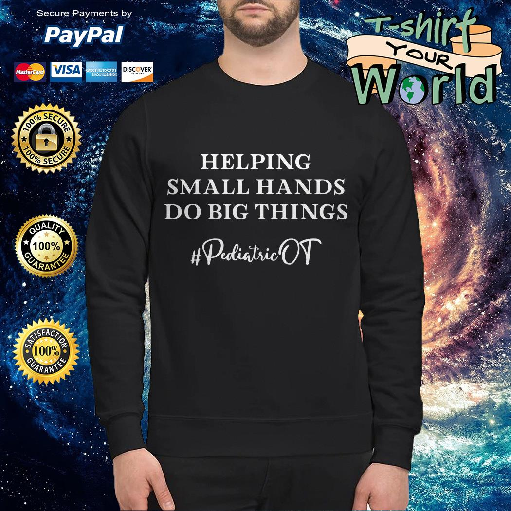 Helping Small Hands Do Big Things Sweater