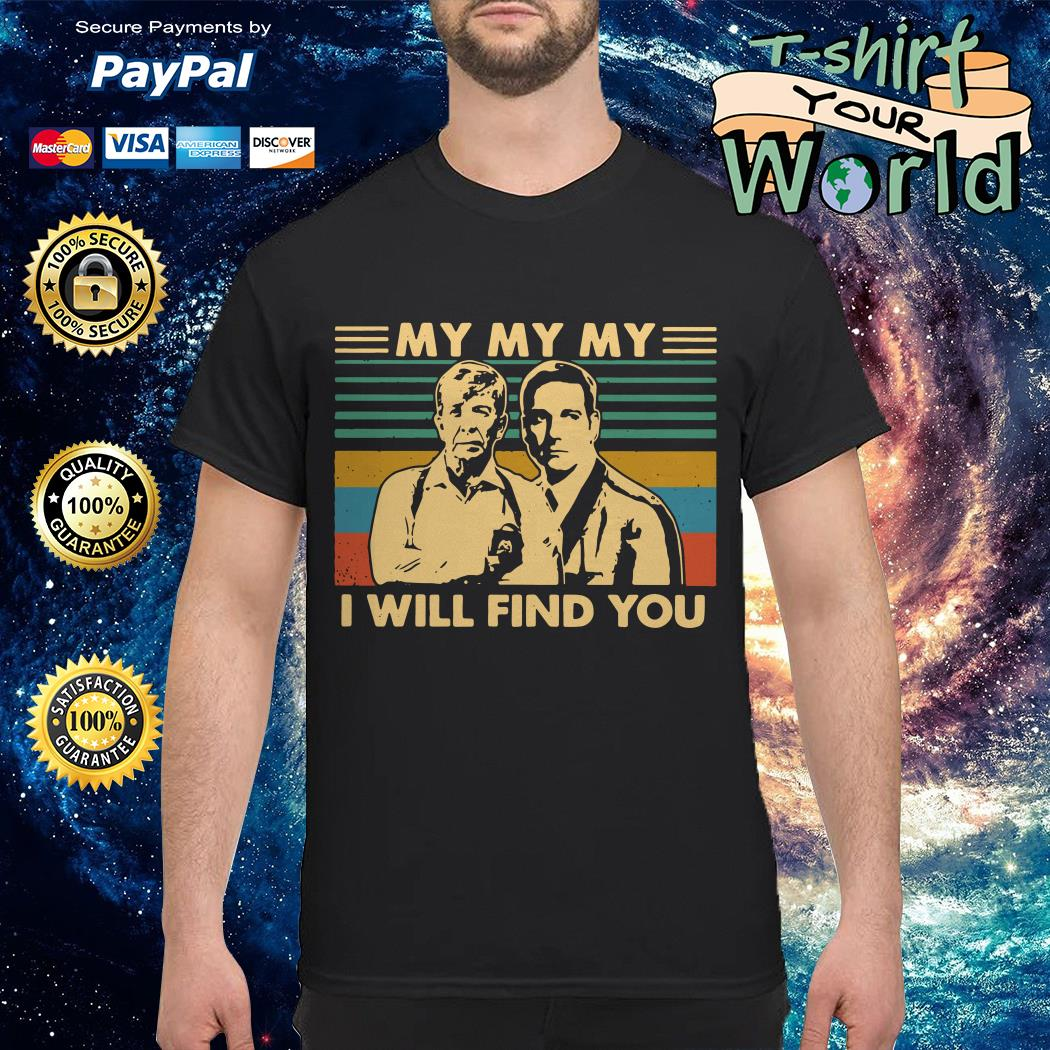 Homicide Hunter Lt. Joe Kenda I Will Find You vintage shirt