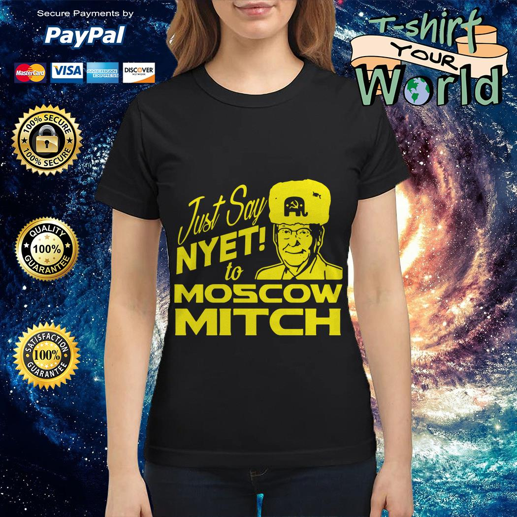 Kentucky Democrats just say Nyet to Moscow Mitch Ladies tee