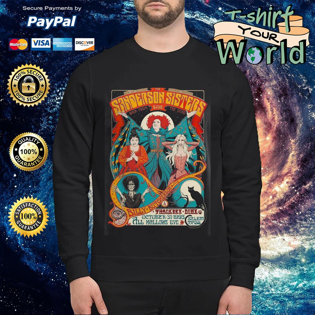 Sanderson Sisters live poster Sweater