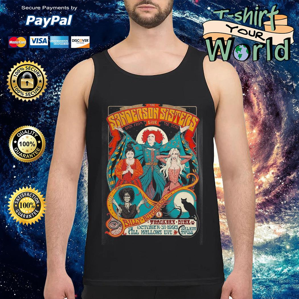 Sanderson Sisters live poster Tank top
