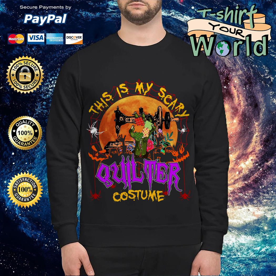 This Is My Scary Quilter Costume Sweater