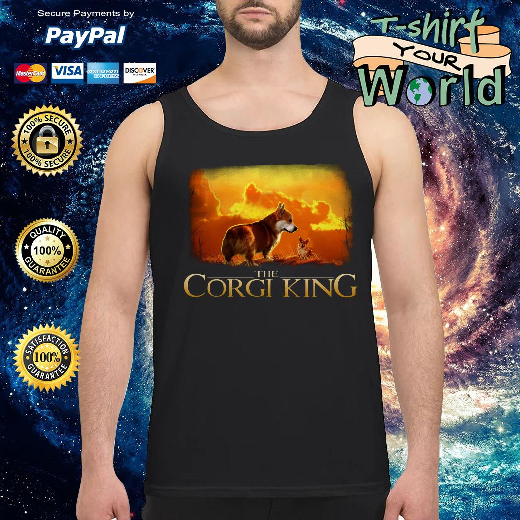 The Corgi King The Lion King Tank top