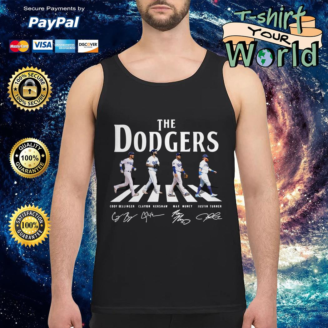The Los Angeles  Dodgers road signature Tank top
