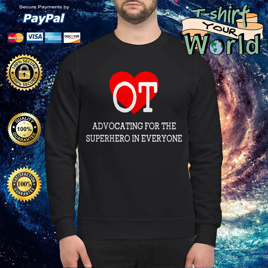 Advocating for the superhero in everyone Sweater