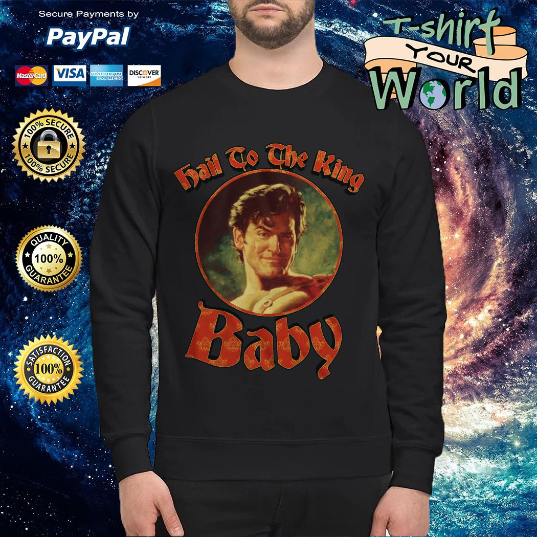 Hail to the King Baby Army of Darkness Sweater