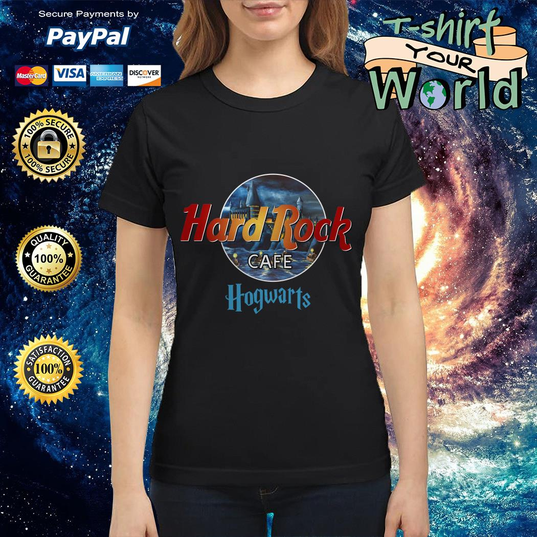Harry Potter hard Rock cafe Hogwarts Ladies tee