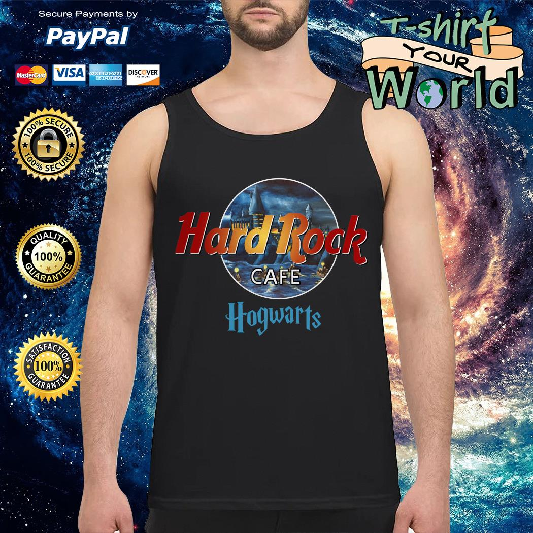 Harry Potter hard Rock cafe Hogwarts Tank top