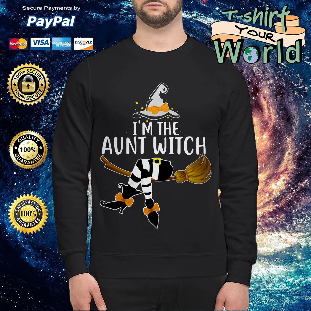 I'm the aunt witch Halloween Sweater