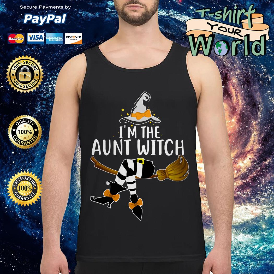 I'm the aunt witch Halloween Tank top