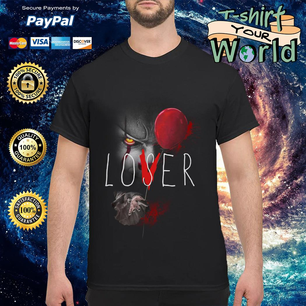 IT Pennywise lover loser shirt